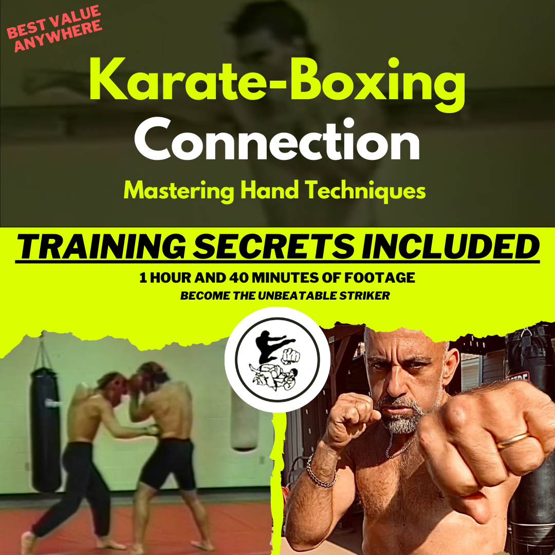 "Karate-Boxing Connection ""Mastering Hand Techniques"""
