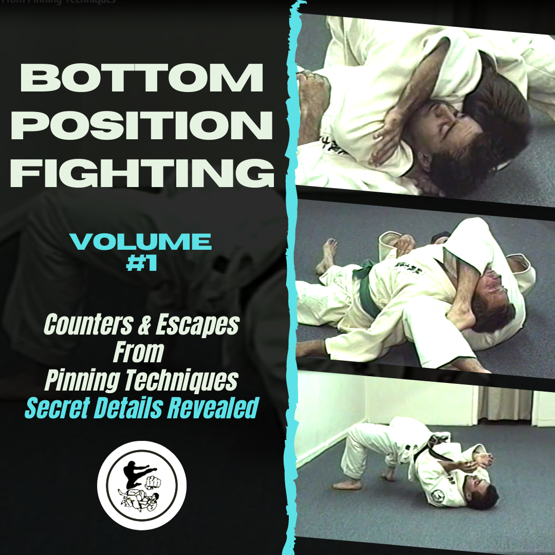 Bottom Position Fighting Vol 1: Counters & Escapes From Pinning Techniques