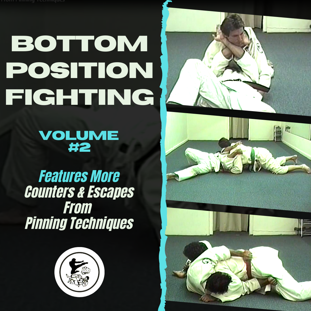 Bottom Position Fighting Vol 2: Counters & Escapes From Pinning Techniques