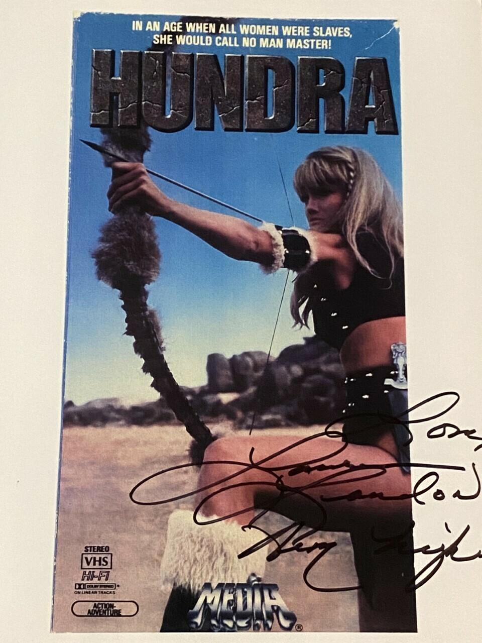 HUNDRA #2 Autographed 8x10 Photo