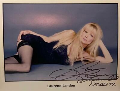 8x10 Promo Photo Autographed By Laurene Landon #13