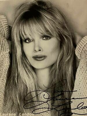 8x10 Promo Photo Autographed By Laurene Landon #20