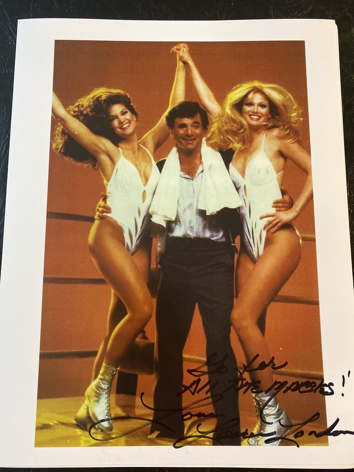 Rare (ALL THE MARBLES) Promo Photo Autographed By me (Laurene Landon)