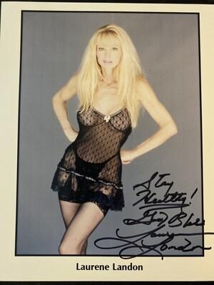 8x10 Promo Photo Autographed By Laurene Landon #22