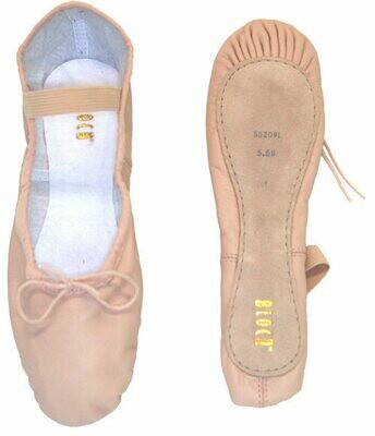 Leather Full Sole Ballet Shoes