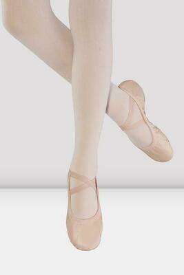 Split Sole Odette Leather Ballet Shoes