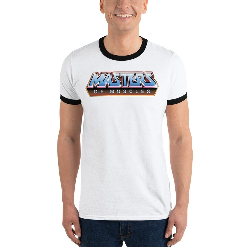 Masters Of Muscles Ringer T-Shirt