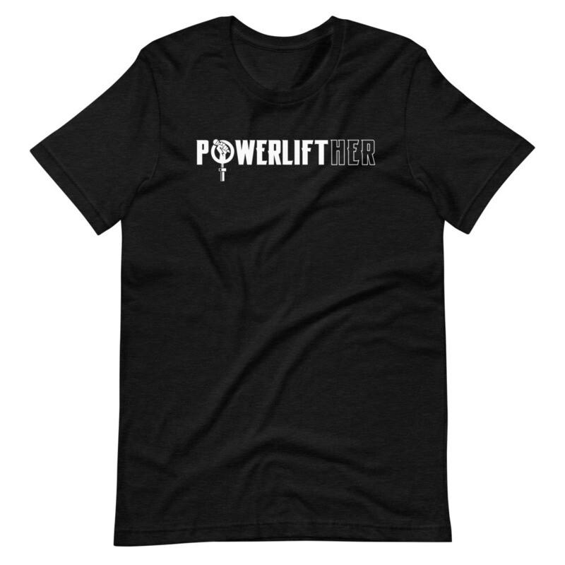 PowerliftHER Short-Sleeve Unisex T-Shirt