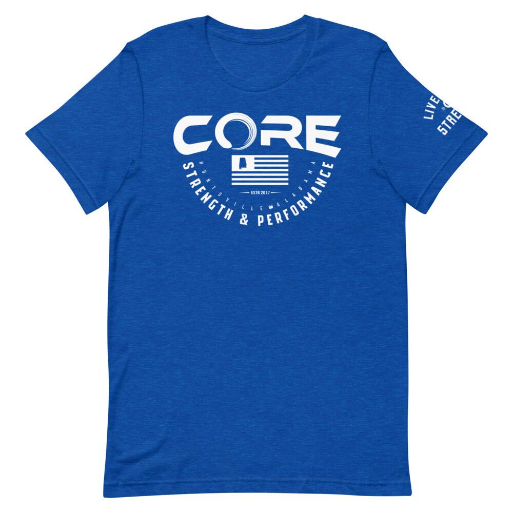 Core Logo Round Short-Sleeve Unisex T-Shirt