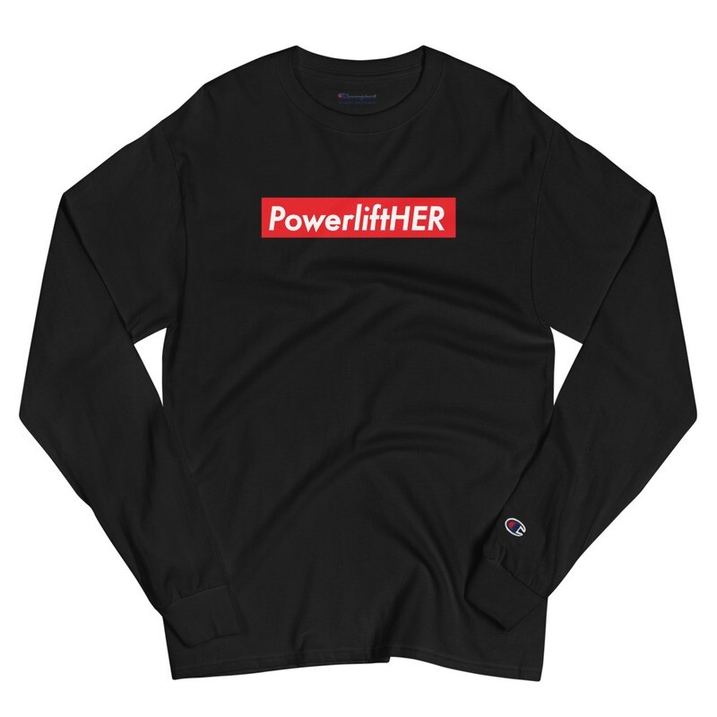 PowerliftHER Champion Long Sleeve Shirt