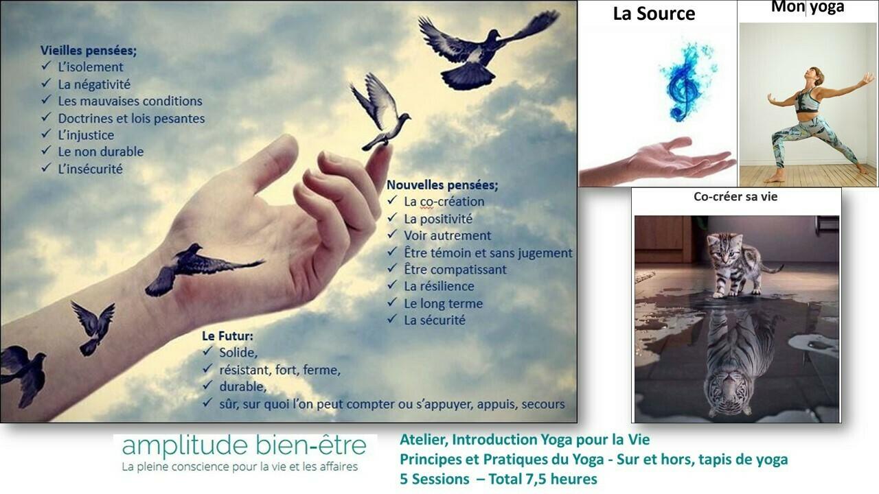 Atelier (une série de 5 sessions - a serie of 5 sessions) Samedi / de 12h à 13h30