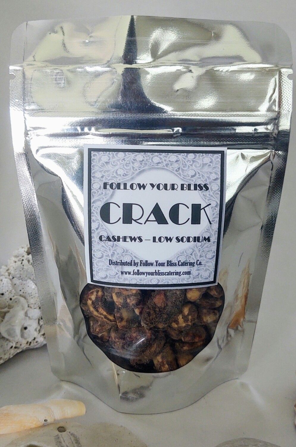 Crack Cashews 2oz