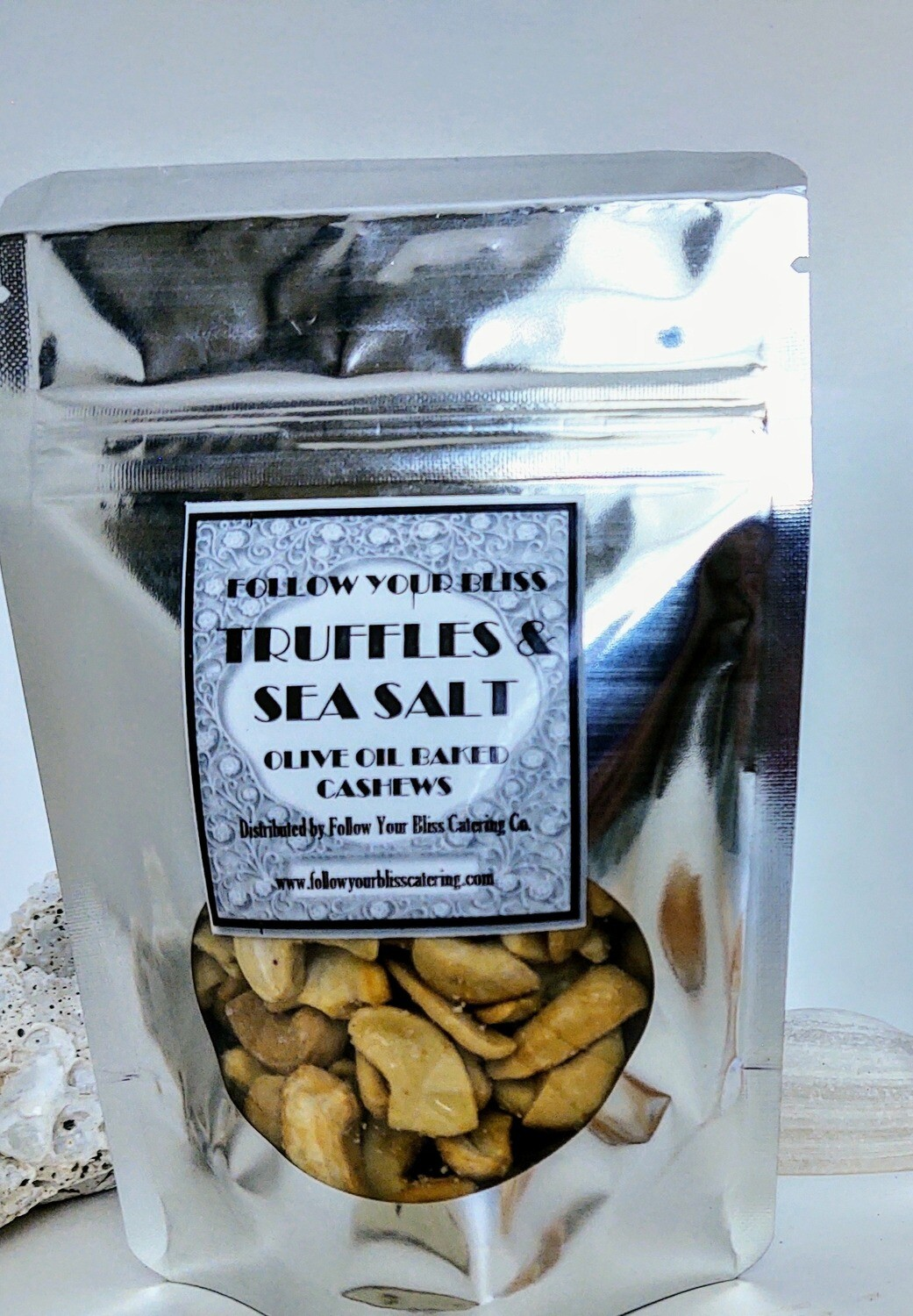 Truffle & Sea Salt Cashews 2oz