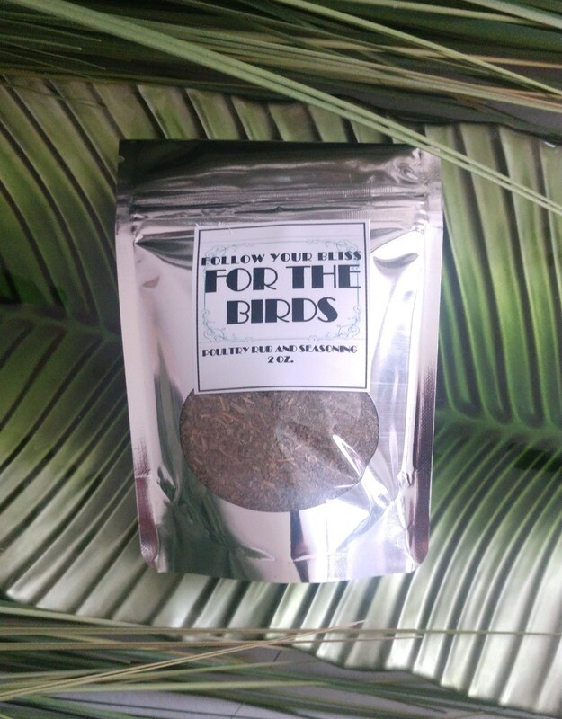 For The Birds- All Purpose Poultry Rub- Full Size