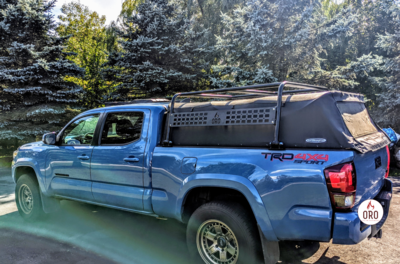 05+ Tacoma Soft Top Overland Rack