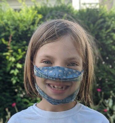 Child's Clear Mask