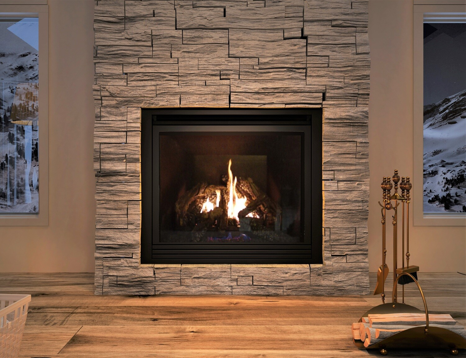 Ambiance Intrigue 42 Fireplace (Traditional)