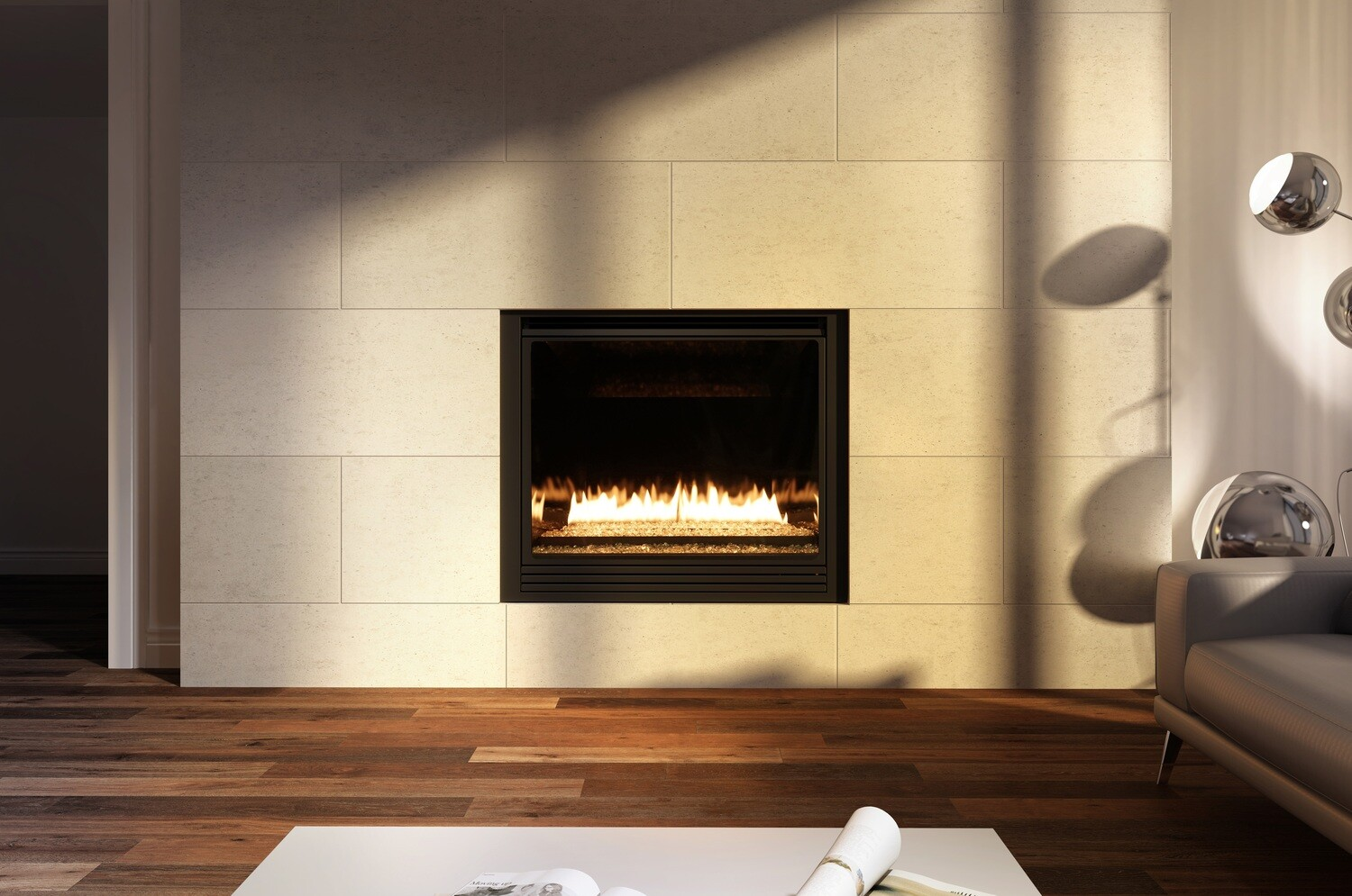 Ambiance Intrigue 42 Fireplace (Contemporary)