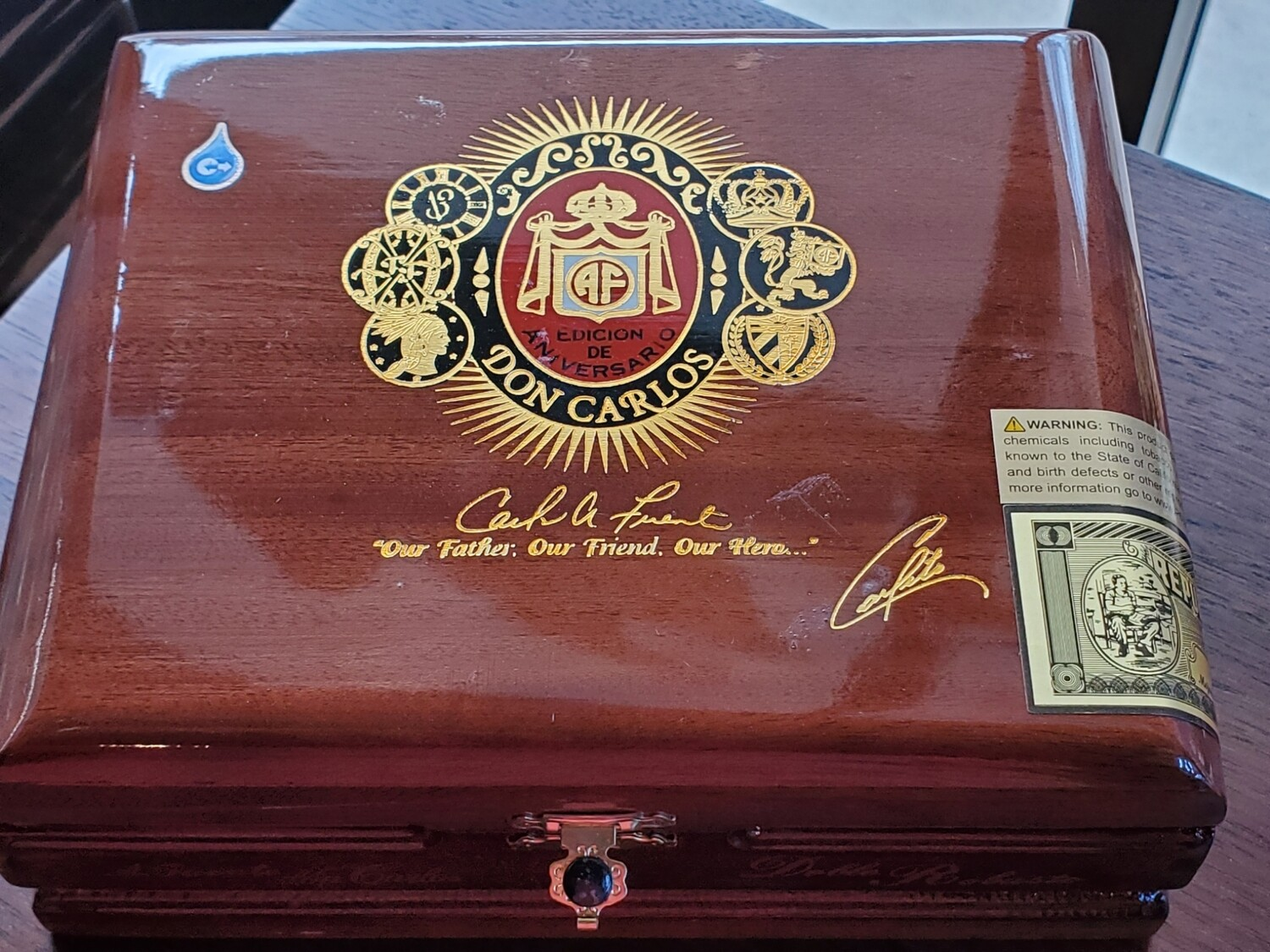 AF Don Carlos Double Robusto - Box 25