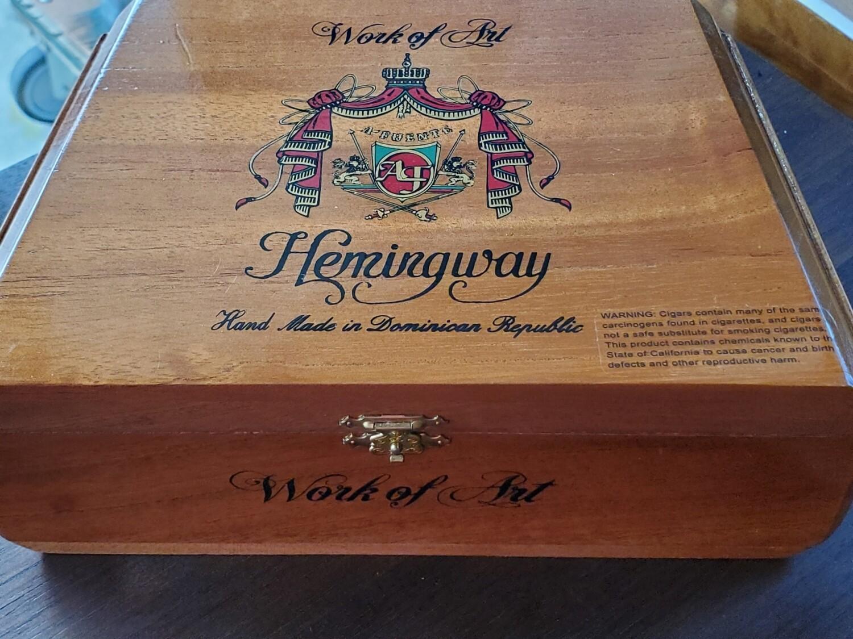 AF Hemingway Work of Art Maduro - Box 25