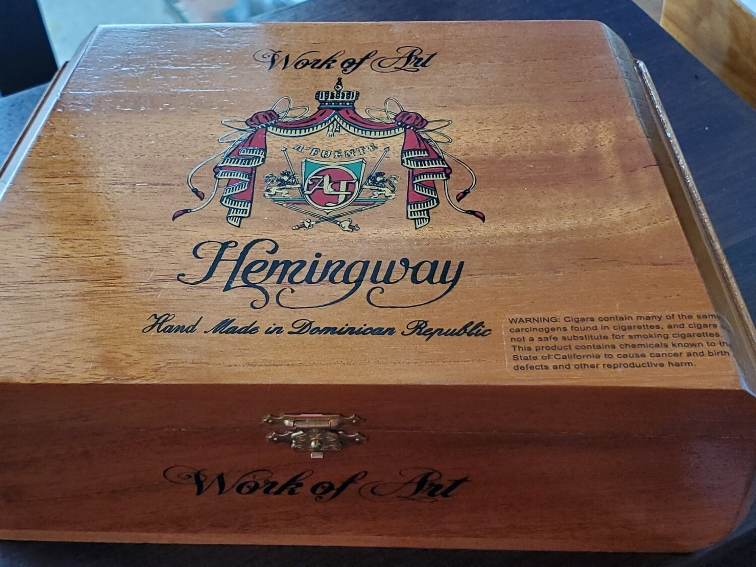 AF Hemingway Work of Art Natural - Box 25