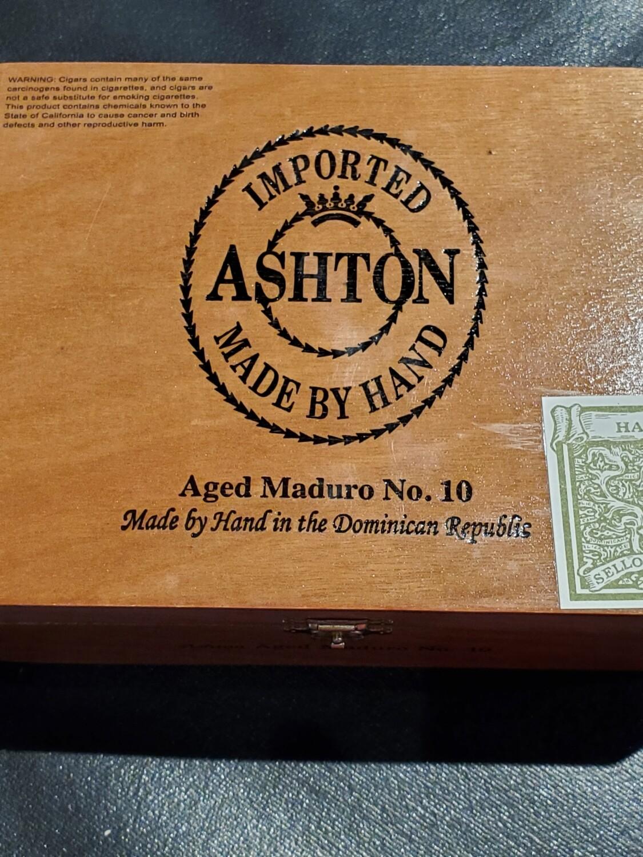 Ashton Aged Maduro No. 10 - Box 25