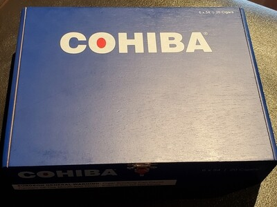 Cohiba Blue Toro Box 20
