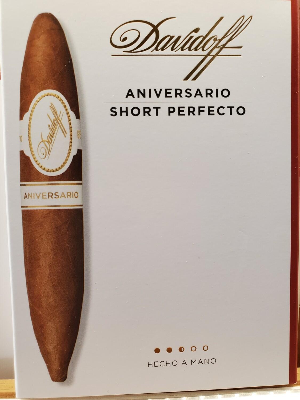 Davidoff Aniversario Short Perfecto - 4-pk
