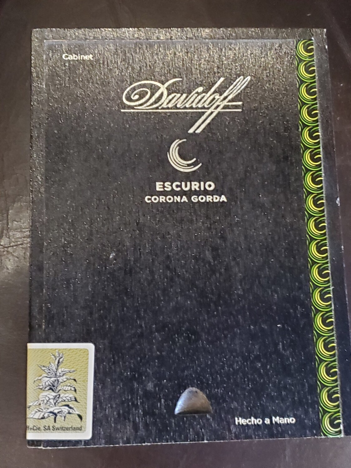 Davidoff Escurio Corona Gorda - Box 12