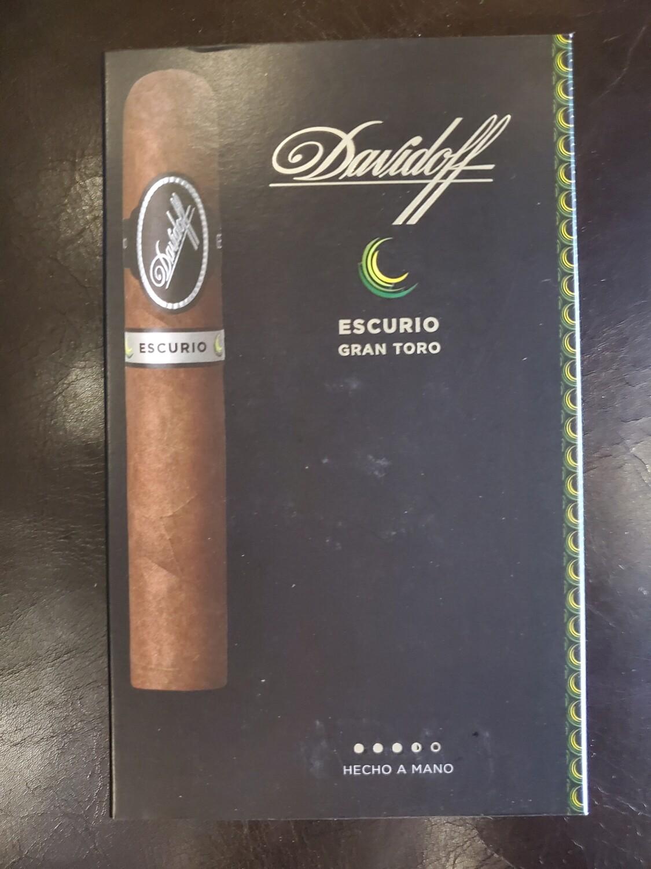 Davidoff Escurio Gran Toro - 4-pk