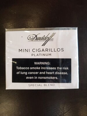 Davidoff Mini Cigarillos Platinum 20ct