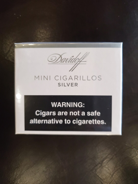 Davidoff Mini Cigarillo Silver