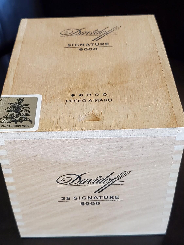 Davidoff Signature 6000 - Box 25