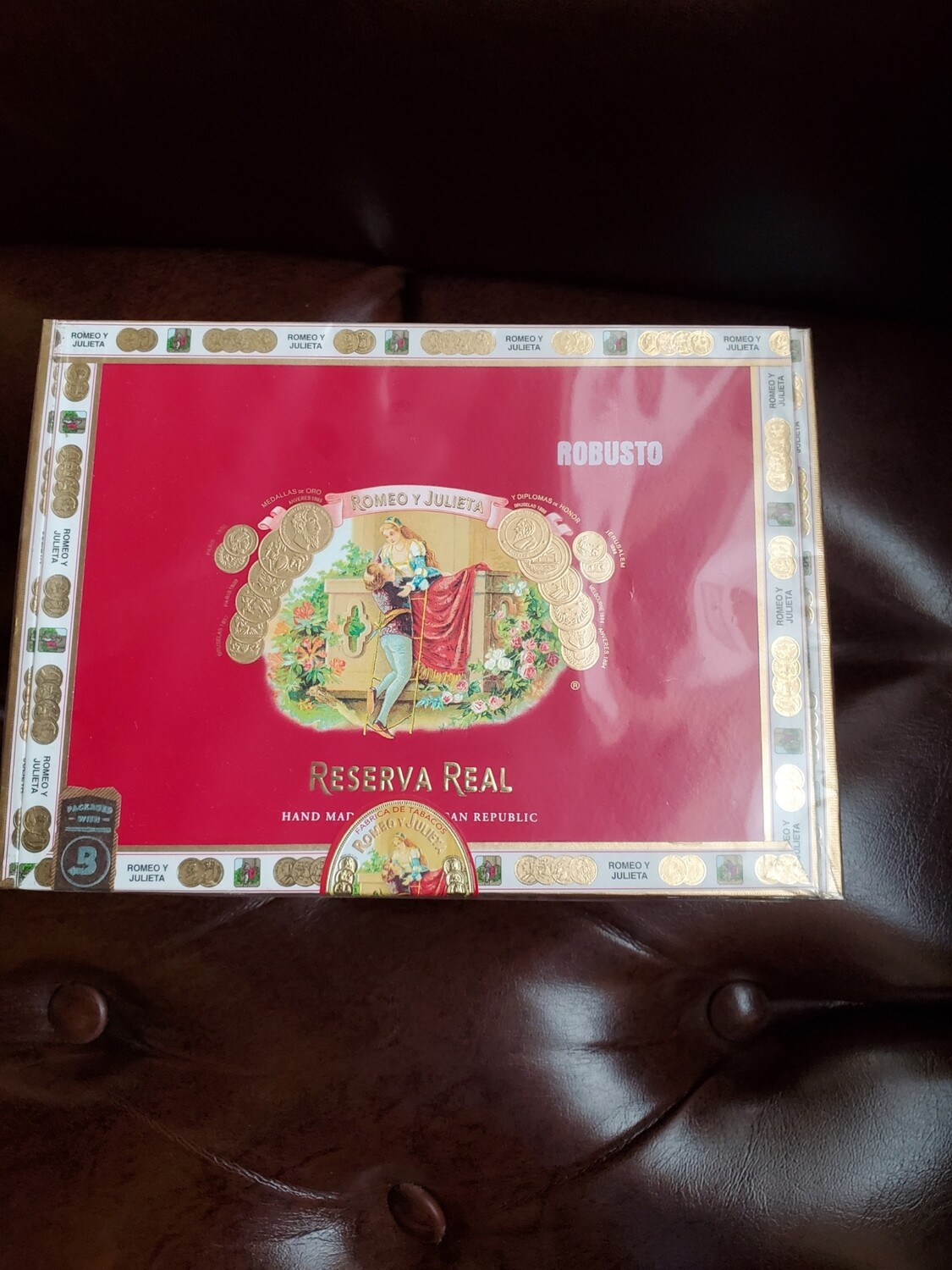 RyJ Reserva Real 1875 Robusto - Box 25