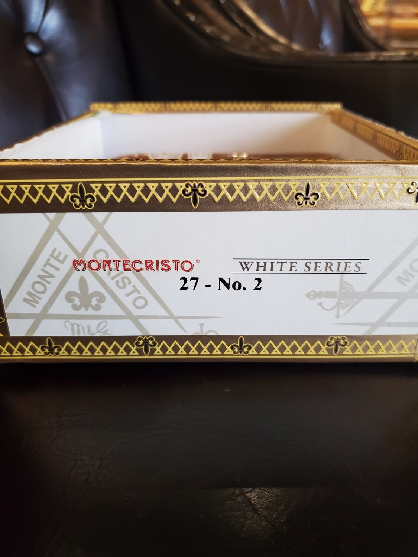 Montecristo White No. 2 - Box 27