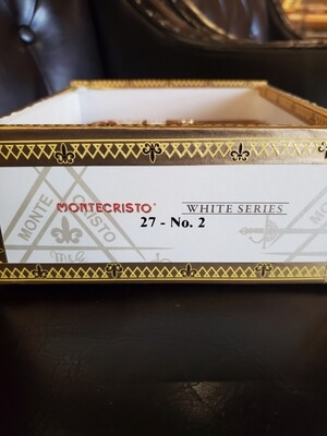 Montecristo White No. 2 - Box 27