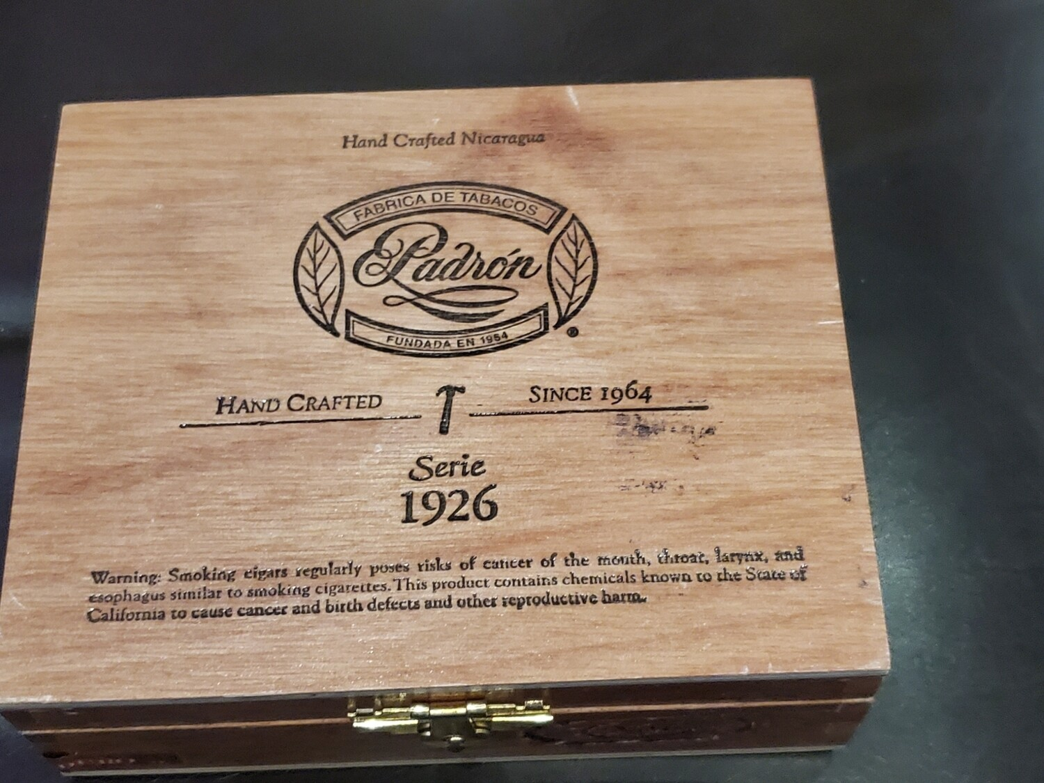 Padron 1926 No6 M Box 10