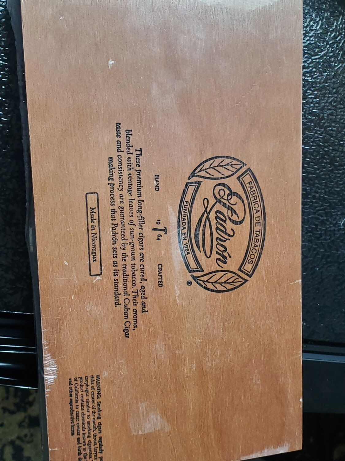 Padron 1964 Beli Mad Box 25