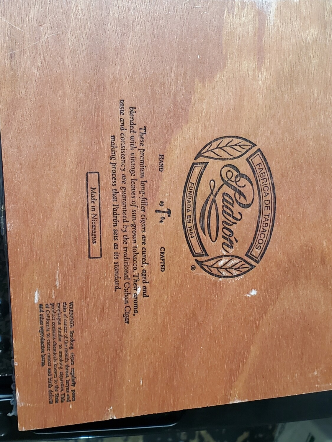 Padron 1964 Excl Mad Box 25