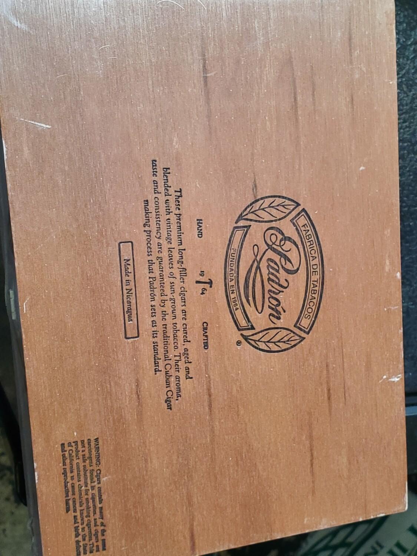 Padron 1964 No4 Nat Box 20