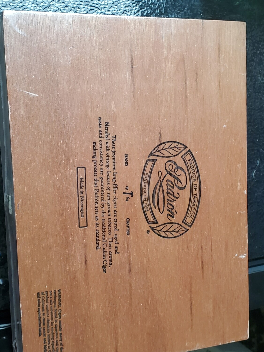 Padron 1964 No4 Mad Box 20