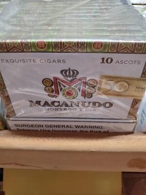 Macanudo Café Ascots Tin - Brick of 10