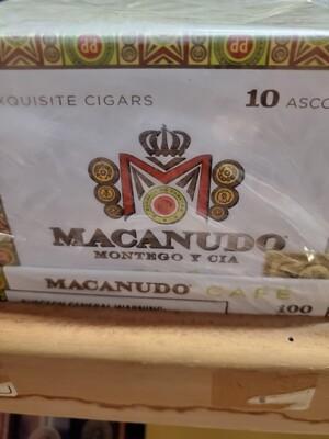 Macanudo Café Ascots Tin