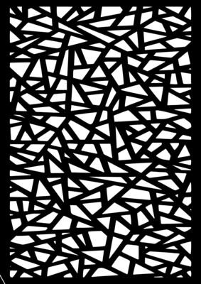 A4 Stencil Random Pattern