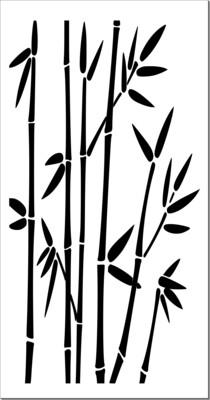A4 Stencil Bamboo