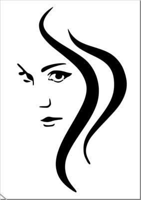 A4 Stencil Beauty