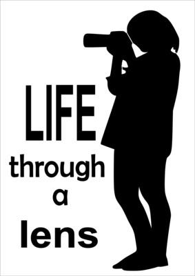 A4 Stencil Life through a Lens