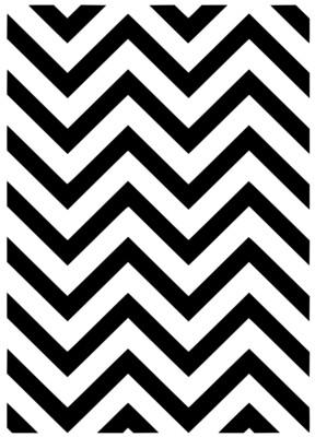 A4 Stencil Pattern Chevron
