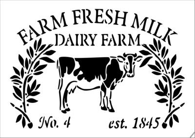 A4 Stencil Farm Fresh