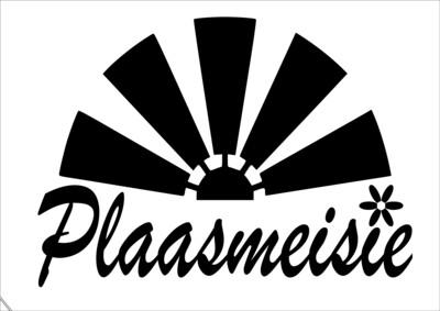 A4 Stencil Plaasmeisie